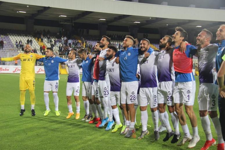 Afjet Afyonspor, Gümüşhanespor'u mağlup etti