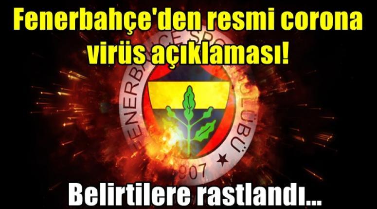 Fenerbahçe'de Corona virüs Alarmı !!