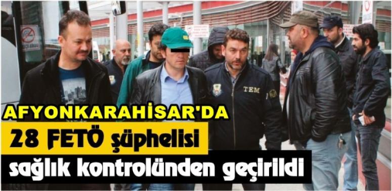 AFYONKARAHİSAR'DA FETÖ ŞÜPHELİLERİ KONTROLDEN GEÇTİ !!!