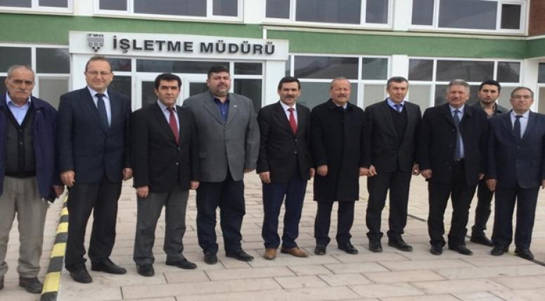 Milletvekili Mehmet TAYTAK Alkaloid Fabrikasını Ziyaret Etti