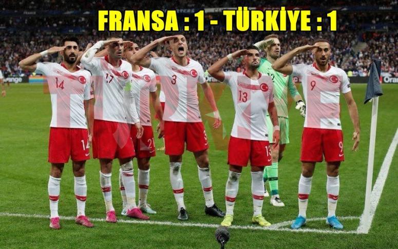Fransa : 1 - 1 Türkiye [ Tebrikler Milli Takım ]