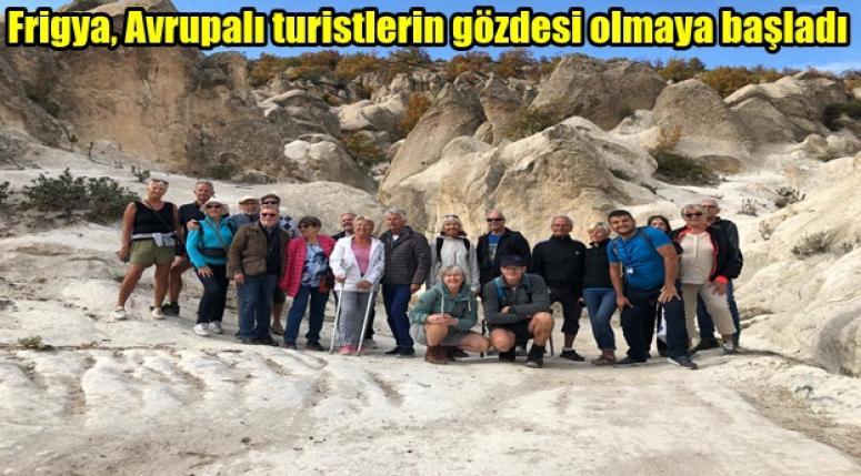 Avrupalı turistler Frigya'ya akın ediyor