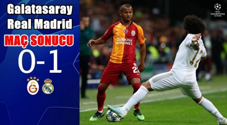 Galatasaray 0-1 Real Madrid