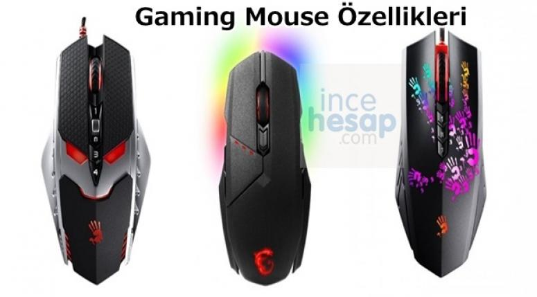 Gaming Mouse Özellikleri