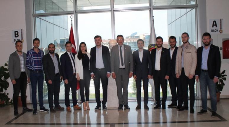 GENÇ GİRİŞİMCİLER KURULU'NDAN SERTESER'E DAVET