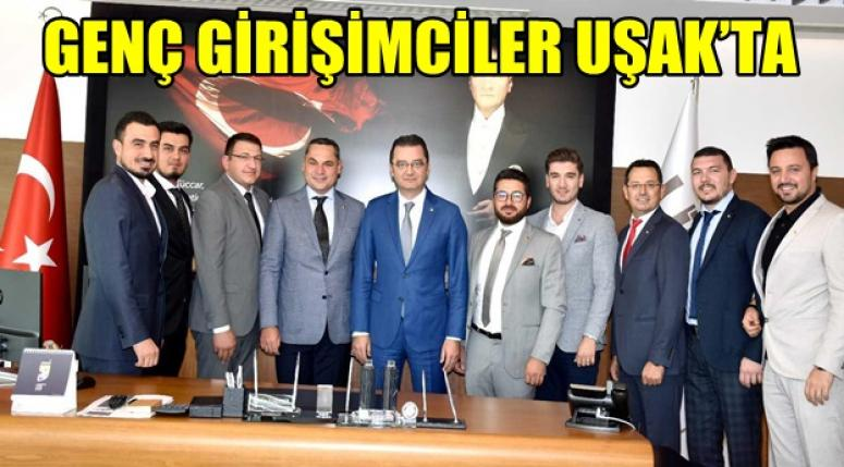 Afyon'lu Genç Girişimciler Uşak'ta !! Kandemir'den tam destek..