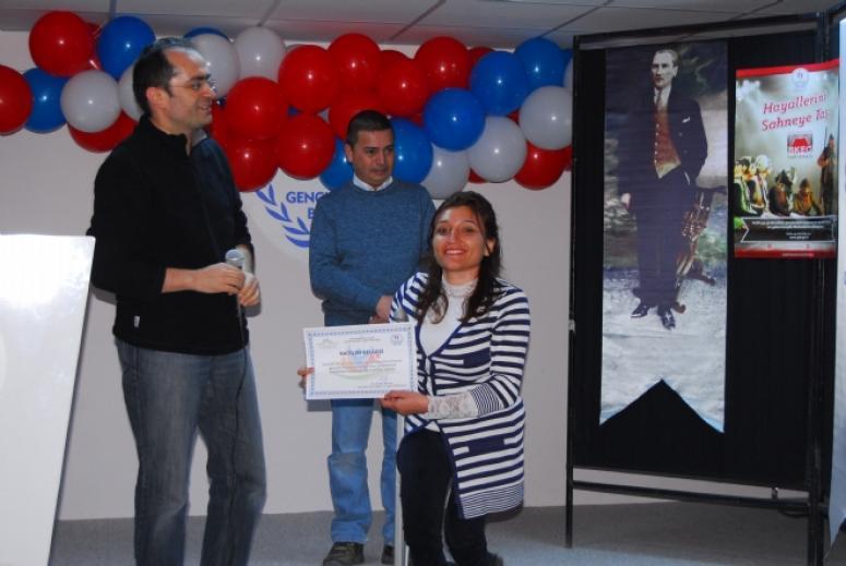 Afyonkarahisar Gençlik ve Spor İl Müdürlüğü ve Gençlik Merkezinin başlattığı Skeç Yarışması yapıldı.