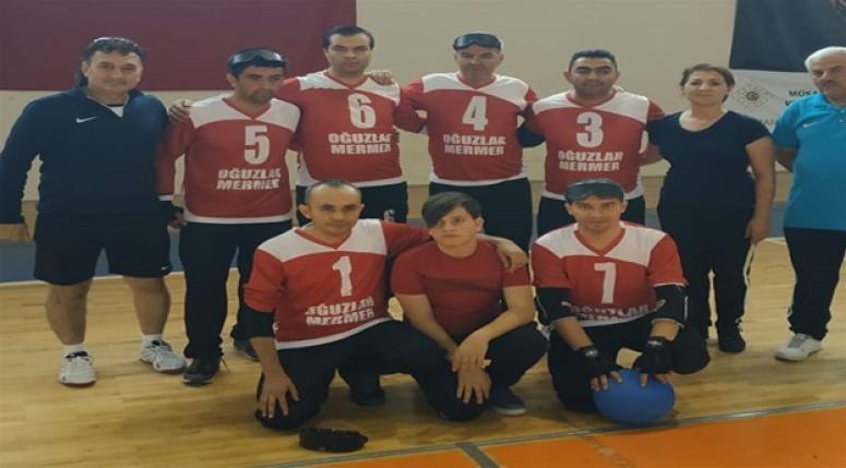 Goalball 1. devre müsabakaları tamamlandı