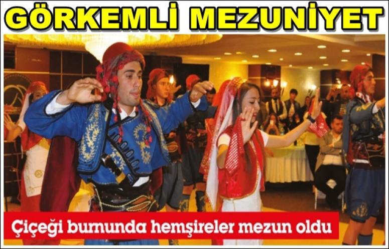 GÖRKEMLİ MEZUNİYET !!!