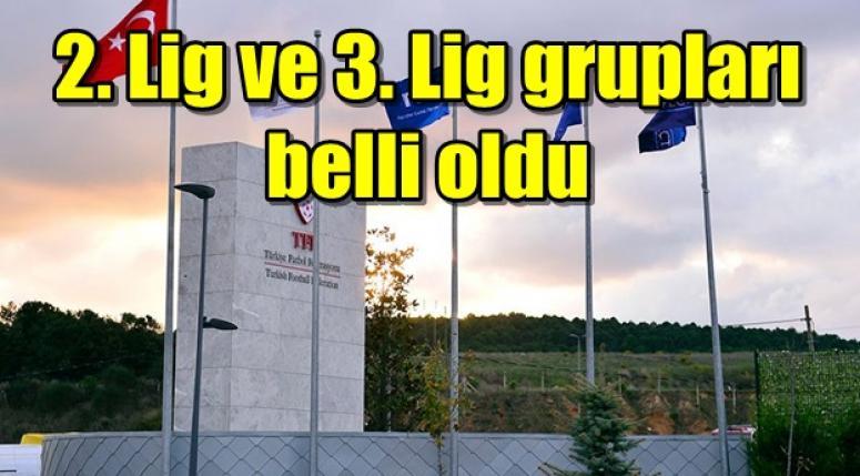 2. Lig ve 3. Lig grupları belli oldu !! Afjet Afyonspor Kırmızı gruba düştü !!
