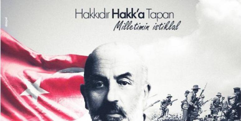 Mehmet Zeybek, İstiklal Marşı kabulü mesajı yayımladı