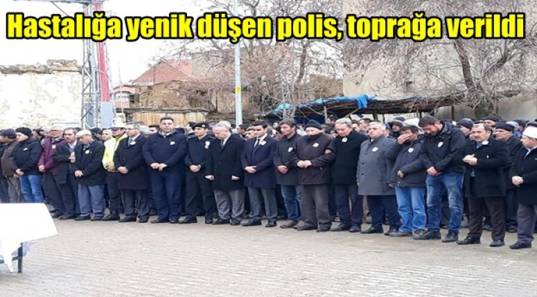 Polis memuru Hakkı Acar toprağa verildi !!