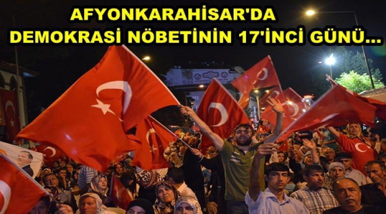AFYON DEMOKRASİ NÖBETİNE DEVAM EDİYOR !!!