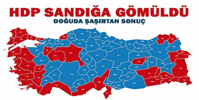 HDP/PKK doğu illerinde resmen kan kaybetti
