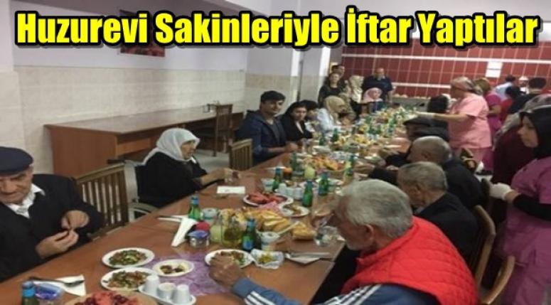 Emirdağ Huzurevi, Emirdağ protokolüne iftar yemeği verdi