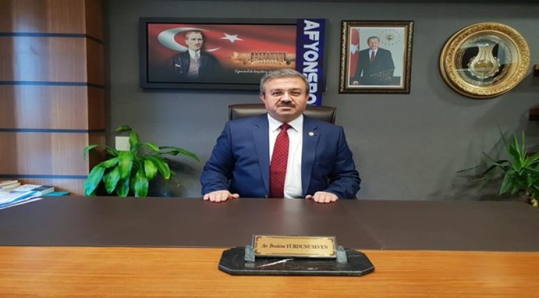 Milletvekili Av. İbrahim Yurdunuseven Bayram Mesajı