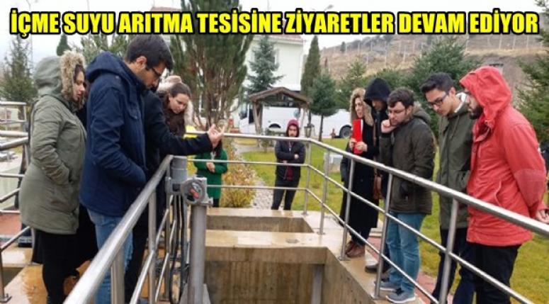 Afyonkarahisar İçme Suyu Arıtma Tesislerini Ziyaret ettiler !!