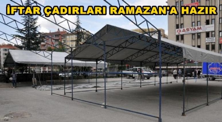Afyonkarahisar'da İftar Çadırları Ramazan'a hazır !!!