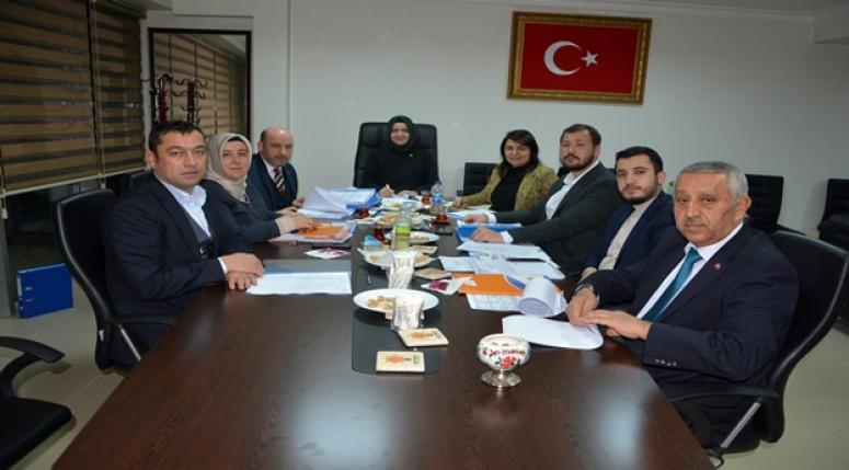 Afyon AK Parti Belediye ve İl Genel Meclis üyeleri