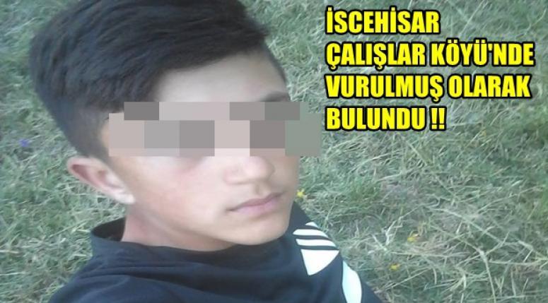 İscehisar Çalışlar Köyü'nde vurulmuş halde bulundu !!