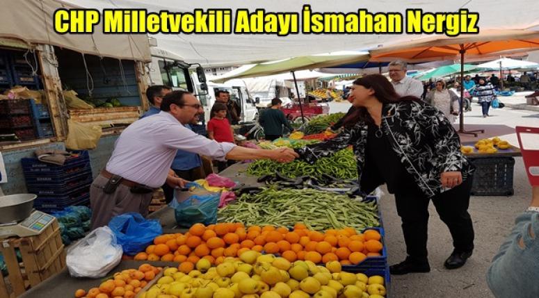 CHP Milletvekili Adayı İsmahan Nergiz ÇİFTÇİ DESTEKLERİ KATLANACAK