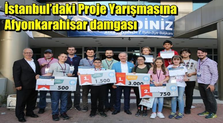 İstanbul'daki Proje Yarışmasına Afyonkarahisar damgası