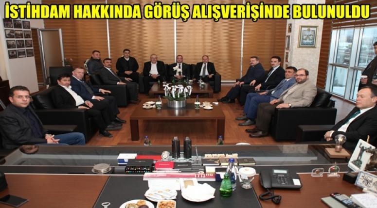 ATSO'YA 3 KURUMDAN ZİYARET !!