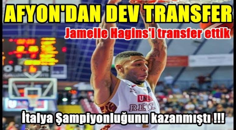 Afyon'dan dev transfer !! Jamelle Hagins Afyon Belediyespor'da
