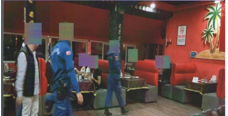 Afyon'da eğlence adreslerine Jandarma kontrol yaptı !!