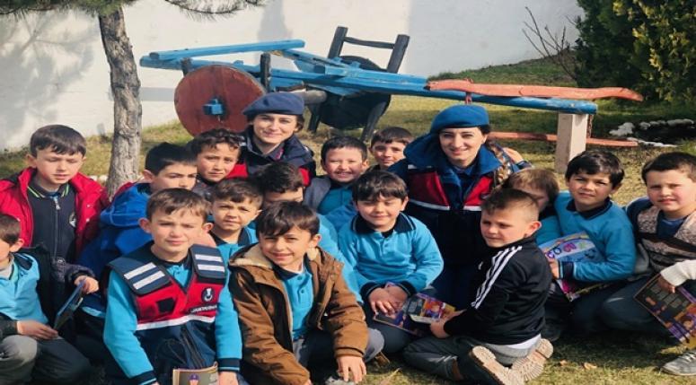 """Dersimiz Jandarma"""" Projesi İscehisar İlçesinde icra edildi"""