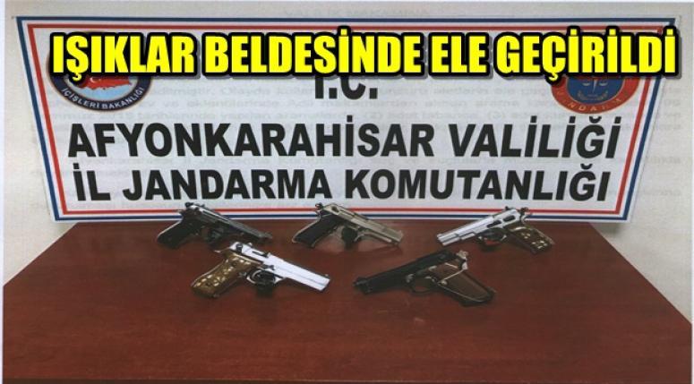 IŞIKLAR BELDESİNDE ELE GEÇİRİLDİ