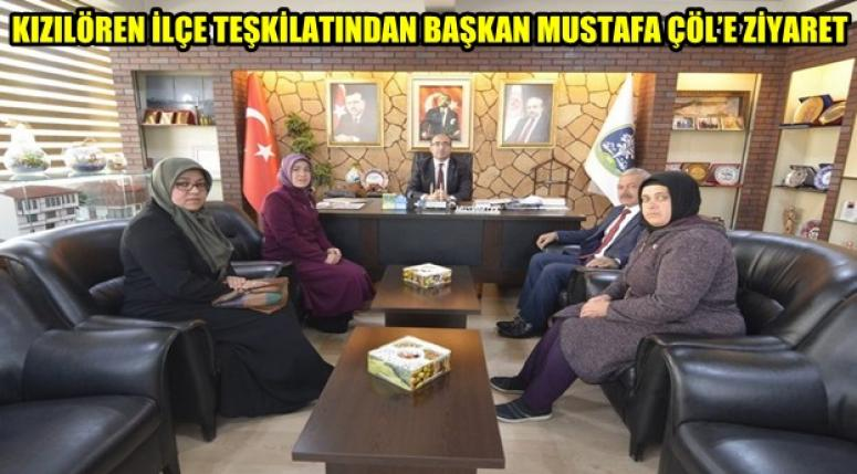 Kızılören Ak Parti İlçe Teşkilatı Mustafa Çöl'ü ziyaret etti