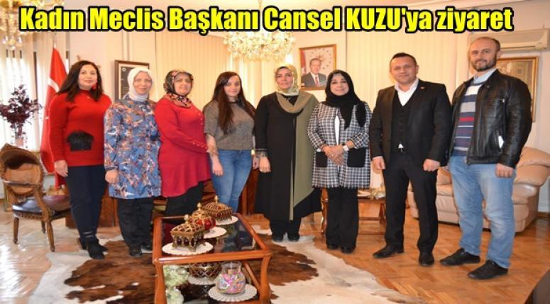 Afyon Türk Kızılay'ından Cansel KUZU'ya ziyaret