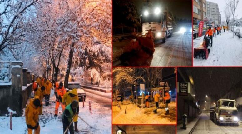 Afyonkarahisar Belediyesi Kar ile Mücadele ediyor !!