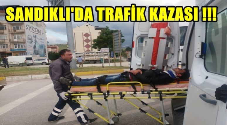 SANDIKLI'DA TRAFİK KAZASI !!!