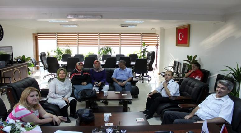 STK'lar ve üyeleri Hüseyin Sezen'i ziyaret etti