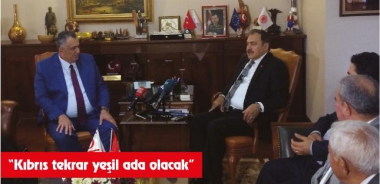 """""""Kıbrıs tekrar yeşil ada olacak"""""""