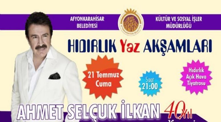 HAYDİ AFYON !! HIDIRLIK'TA KONSER VAR..