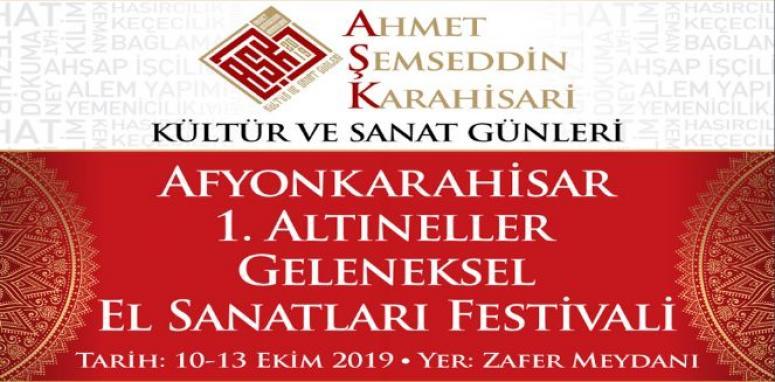 Afyon'da Kültür ve Sanat Günleri Festivali