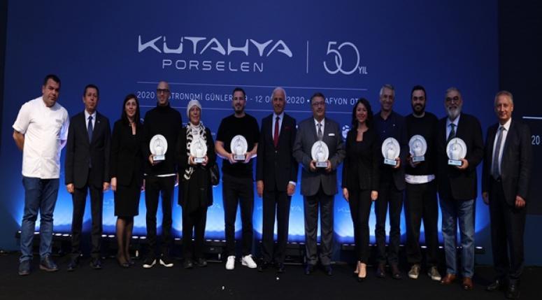 KÜTAHYA PORSELEN, GASTONOMİ GÜNLERİ'NDE 50. YILINI KUTLADI