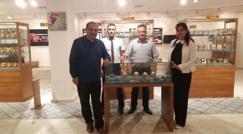 Malatya Valisin'den, Yumurta ve Sanatları Merkezine Ziyaret