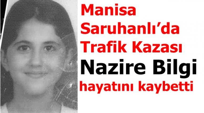 Manisa Saruhanlı'da Trafik Kazası !!