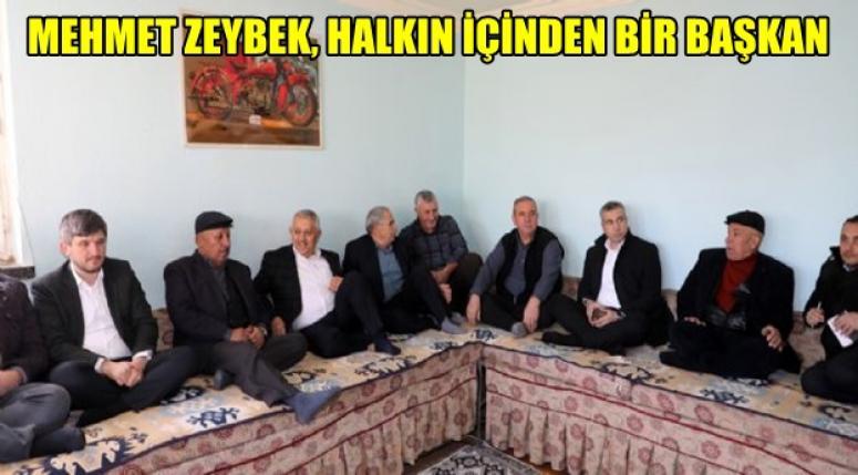 Mehmet Zeybek, Afyon sokaklarını karış karış dolaşıyor