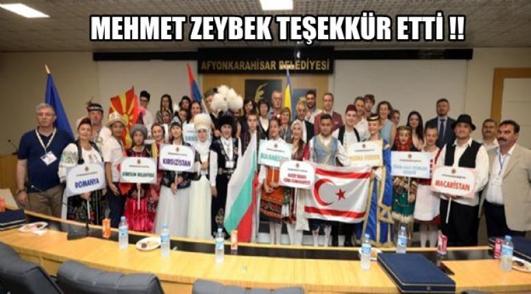 Mehmet zeybek teşekkür etti !!