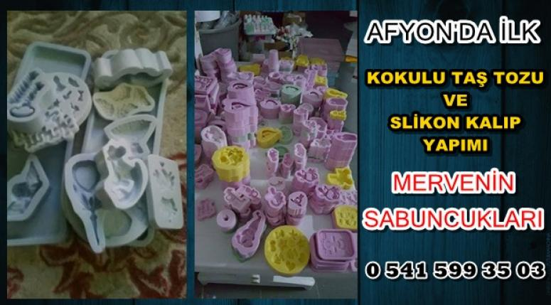 AFYON'DA BİR İLK !!! KOKULU TAŞ VE SLİKONLU KALIP YAPIMI !!!