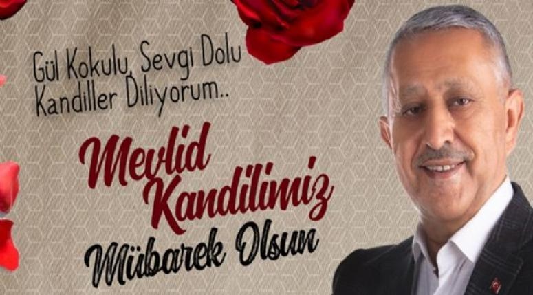 Mehmet Zeybek, Mevlid Kandili dolayısıyla bir mesaj yayınladı