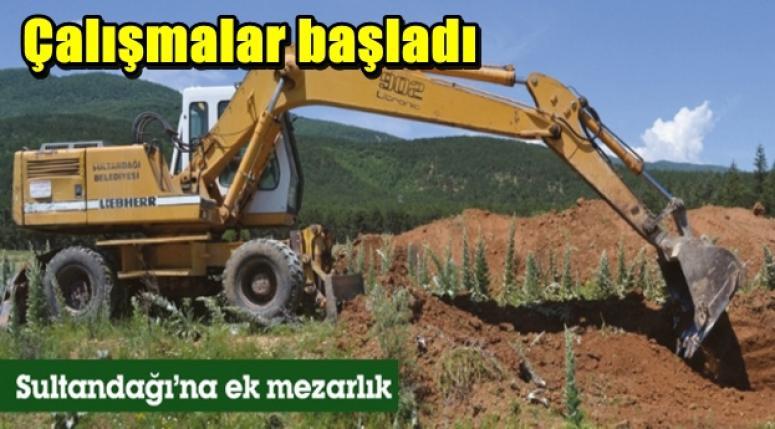 Afyonkarahisar'ın Sultandağı İlçesine ek mezarlık yapılıyor