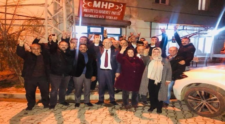 """Şimşek, """"Belediyeler MHP'ye yakışır"""""""