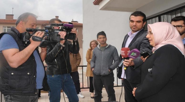 Özkal, Gazeteciler gününü kutladı !!!