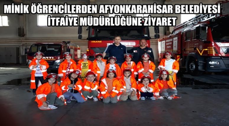 Ayşegül Arsoy İlkokulu Afyon İtfaiye Müdürlüğünü ziyaret etti !!